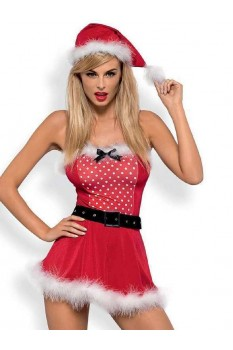 Костюм Obsessive Mrs Claus dress